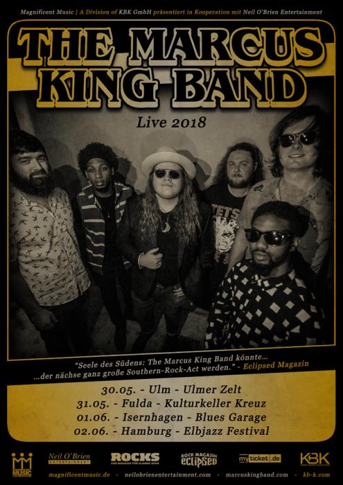 Marcus King Band Tour Dates